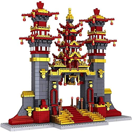 WXH SLL- Gebäude Sets, 3D-Puzzles Architekturmodell, pädagogisches Spielzeug, Kinder und Erwachsene