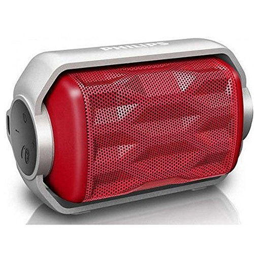 Altavoz Bluetooth Impermeable Philips Rojo