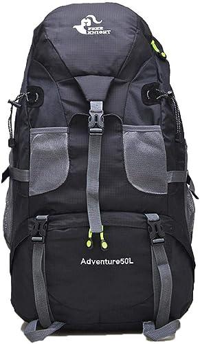 Keelied Unisexe imperméable sport de plein air camping randonnée sac à dos d'escalade Sacs à dos de randonnée