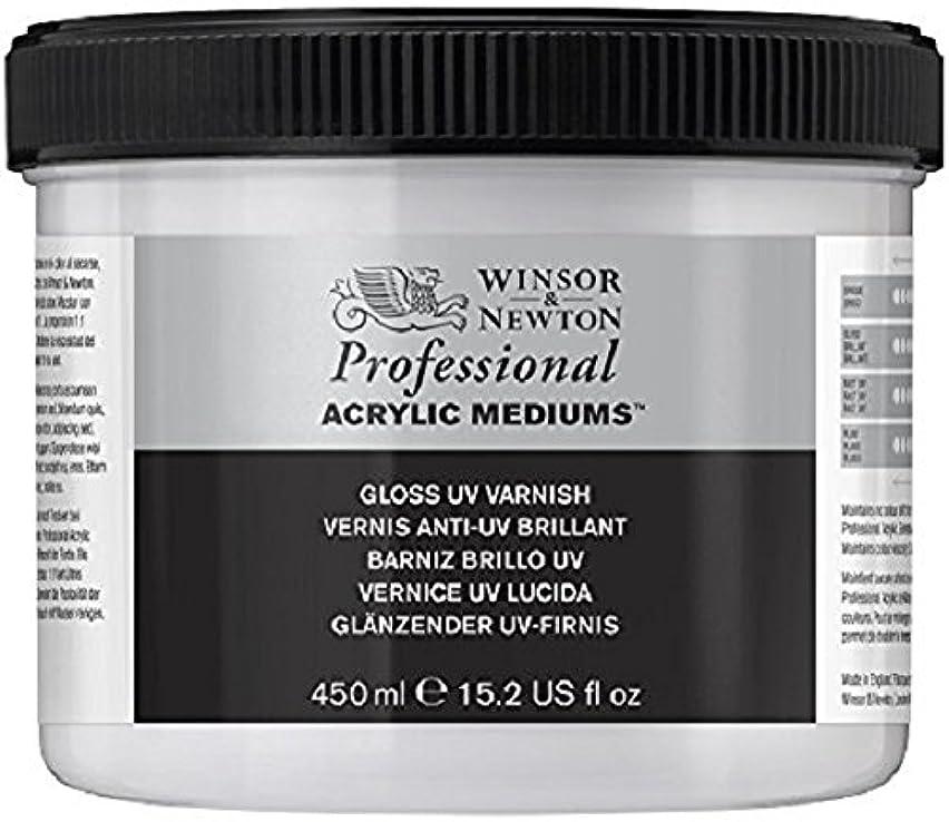Winsor & Newton Professional Acrylic Medium Gloss UV Varnish, 450ml