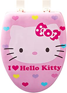 Hello Kitty (F-12) Toilet Lid Cover Seat Cover Soft Seat Lid Covers
