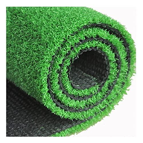 TLMYDD Rollo De Pila De Hierba Artificial - 3.3ft X 3.3 Pies - 10 Mm De Altura De Pila - Astro Turf Fake Lawn Césped Artificial