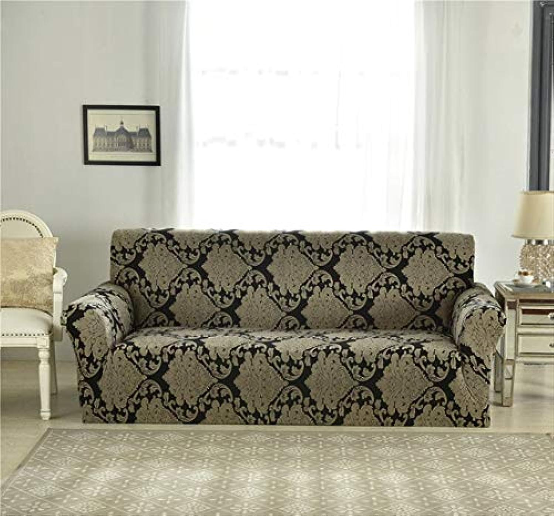 1pcs Corner Elastic Sofa Cover Fabric Stretch Spandex Universal Armchair niture Elastic Case on Corner Sofa Slipcover   color 1, Single Seat 90-140cm