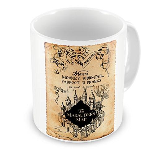 New Indastria Tazza Harry Potter Mappa del Malandrino Pergamena