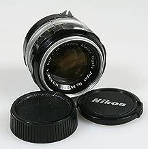 NIKON NIKKOR-S AUTO 50MM F 1.4 LENS NON AI W/FRONT&REAR CAPS