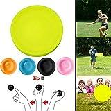 Terra Tu Fliegende Scheibe, Mini Frisbee 2019 Mini Pocket Flexible Soft New Spin im Fangspiel