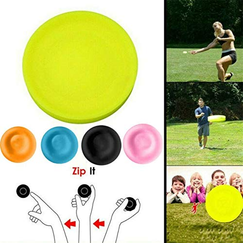 Terra Tu Mini Frisbee, Flying Disc 2019 Mini Pocket Flexible Soft Nuevo Giro en Juego de Captura