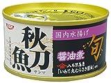 旬 秋刀魚醤油煮 1缶