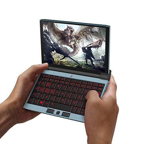 Hanks' shop Gaming Laptop 7.0 Inch, ONE-NETBOOK One-GX WiFi,8GB+256GB, Windows 10 Intel Core I5-10210Y Quad Core Up To 4.0Ghz, Support WiFi 6 & Bluetooth & Micro HDMI