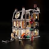 LIGHTAILING Conjunto de Luces (Super Heroes Duelo en el Sancta Sanctorum) Modelo de Construcción de Bloques - Kit de luz LED Compatible con Lego 76108 (NO Incluido en el Modelo)