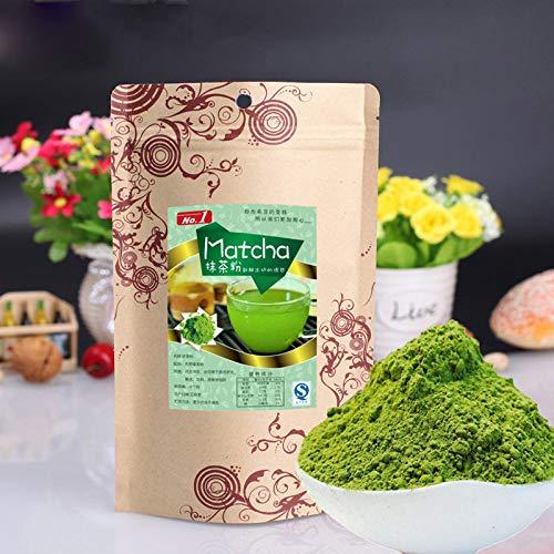 100g (0.22LB) Japanischer Matcha-Grün-Tee-Pulver-100{b311de31f965e6e5d3c5099981f5fbec231be28574ddf130bcbdff0a3a869879} natürlicher organischer Abnehmen Tee Matcha-Tee chinesischer Tee Roher Tee sheng cha gesundes Lebensmittel Grünes Lebensmittel