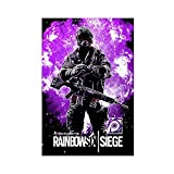 Om Clancy's Rainbow Six Siege Game Leinwand Poster