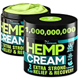 Combo 2-Pack: we have a great offer with 2 packs of powerful hemp cream. x2 potency & maximum strength for your every day use. Natural Ingredients: our pure hemp cream is made of natural & effective ingredients: camellia, hemp oil, boswellia extract,...