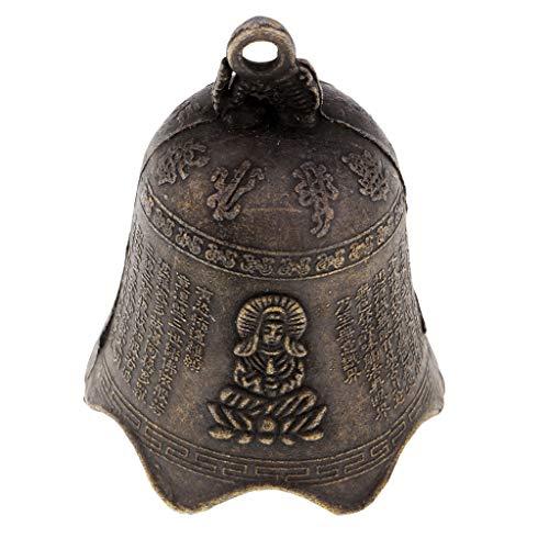 MagiDeal Feng Shui Cloche Signe de Fortune Richesse Chinois Carillon à Vent Décoration Table Bureau Maison - #2