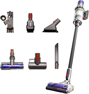 Dyson Cyclone V10 Total Clean+ with Mini Motorized Tool and Mini Soft Dusting Brush, Cord-Free Stick Vacuum Cleaner, Lightweight, Cordless (New)