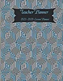 Teacher Planner-(2021-2025 lesson planner):Teacher Agenda For Class Organization and Planning |Weekly and Monthly Calendar Agenda with Inspirational ... Academic Year August - July.: Teacher Planner