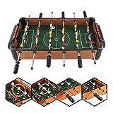 Zhengowen TO Kickertisch Foosball Fußball Tabletops tragbare Mini-Größe Hand Fußball Tischkickertisch Sport-Spiele for Erwachsene und Kinder Tischkicker-Set (Farbe, Size : 40x51x9cm)