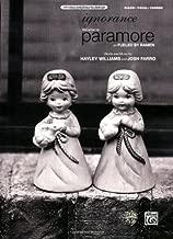 Best ignorance paramore piano sheet music Reviews