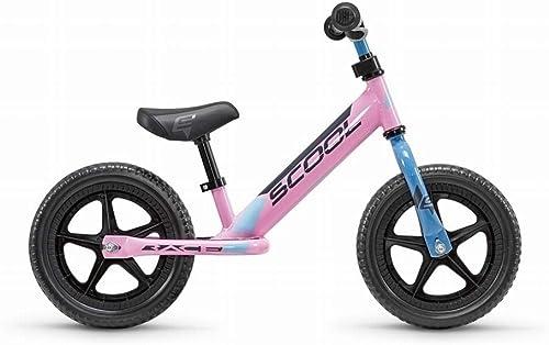 S'Cool pedeX race Kinder Laufrad (One Größe, Rosa schwarz)
