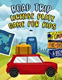 Road Trip License Plate Game for Kids: License Plate Puzzle Book Across the US & Canada, A Fun Game for The Whole Family, License Plate Scavenger Hunt - Find All 50 States!