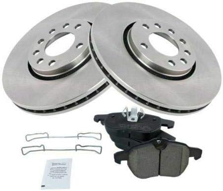 OLINDA Front Ceramic Disc Brake Rotors Pads Compatibl 4 years free warranty Kit 11.9