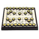 freneci Juego de ajedrez Chino Rompecabezas de ajedrez Juego de Mesa para niños Adultos Estudiantes Dos Jugadores - Los 20x20x1.7cm