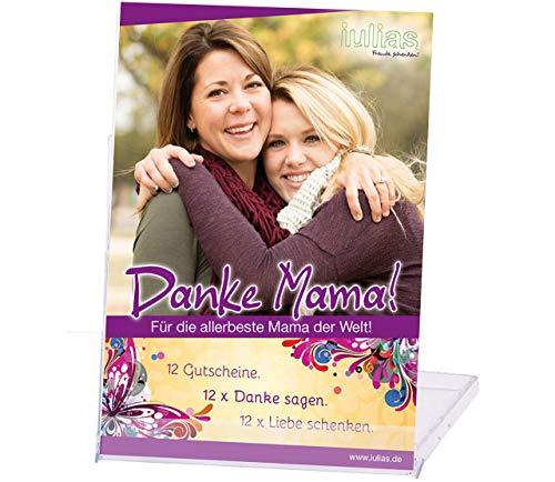 Danke Mama - Das Geschenk für Deine Mutter. Die Geschenkidee zum Geburtstag, Muttertag, Weihnachten. Für gemeinsame Zeit Tochter mit Mutter. Geburtstags-Geschenk