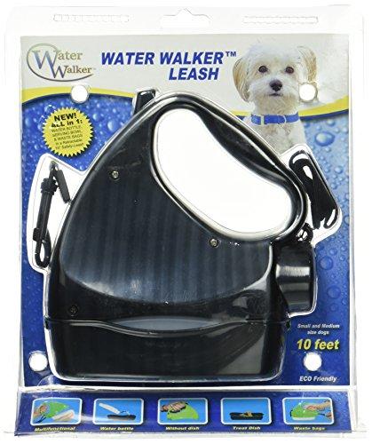 raffiné Canine, 4 en 1 Water Walk Laisse jusqu'à 20 Kilogram, Noir