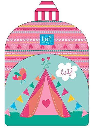 Lief birdsong sac à dos pour fille avec tente