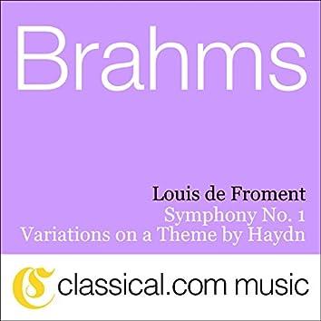 Johannes Brahms, Symphony No. 1 In C Minor, Op. 68