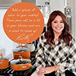 Rachael-Ray-Classic-Brights-Hard-Enamel-Nonstick-14-Piece-Cookware-Set-Orange-Gradient