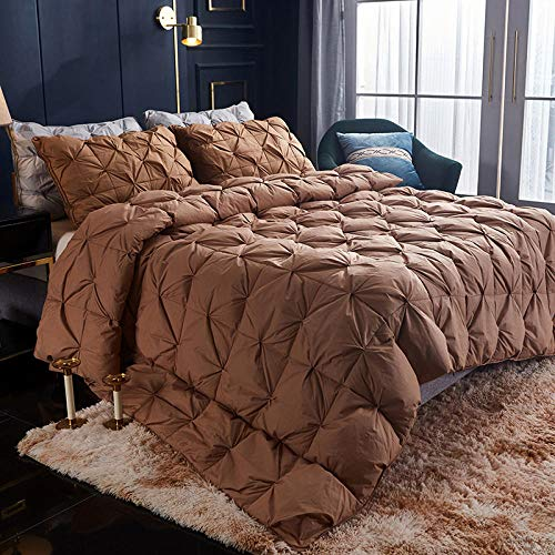 B/H Double Duvet,Warm Duvet Quilt ,Cotton Twisted Down Quilt Pure Cotton Thick Down Quilt-E_180x220cm3.5kg