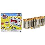 Play-Doh - Le Four Magique - Pâte à Modeler - B9740EU40 avec piles AmazonBasics