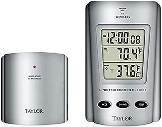 Taylor Thermometer Indoor/Outdoor Requires 2 Aaa Batteries