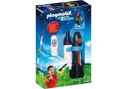 Playmobil Aire Libre - Banco con Caja Fuerte, Juguete Educativo, 40 x 12,5 x 30 cm, (5452)