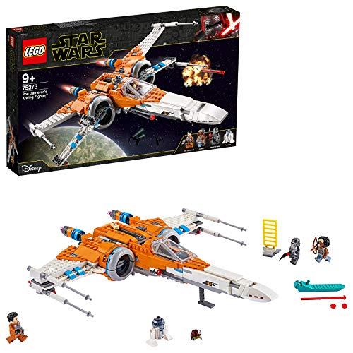 LEGO75273StarWarsCazaala-XdePoEDameronSetdeConstruccióndeNaveEspacialcon3MiniFigurasyR2-D2