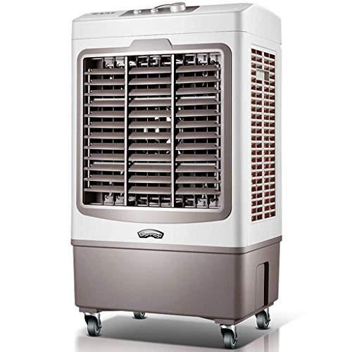 Ventilator Tragbarer Luft conditione - große Industrieklimaanlage Ventilator, einzelne kalte Art Haushalts- Luftkühler, Kleinwasserklimaanlage, 3 Geschwindigkeit, Universal Rad, Luftbefeuchtung Reinig