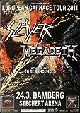 Slayer - European Carnage, Bamberg 2011 »