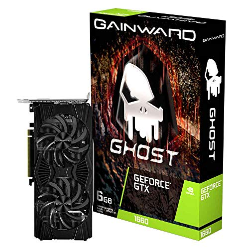Gainward PCI-E GTX1660 Ghost 6GB Dual Fan DVI/HDMI/DP DDR5 Retail