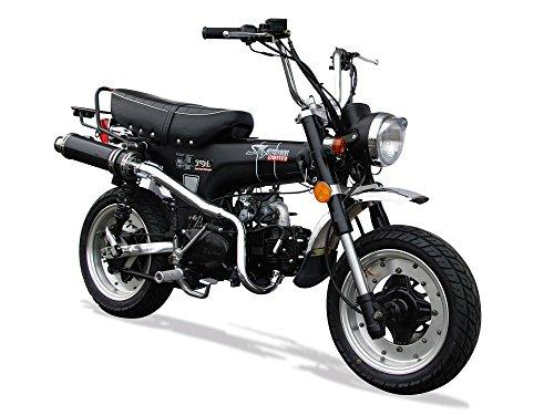 SkyteamDax 50Mini-Motorrad – Limited–schwarz, matt–2018