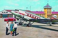 ローデン 309 1/144 ダグラス DC-3 ダコタ旅客機 TWA 1930年代