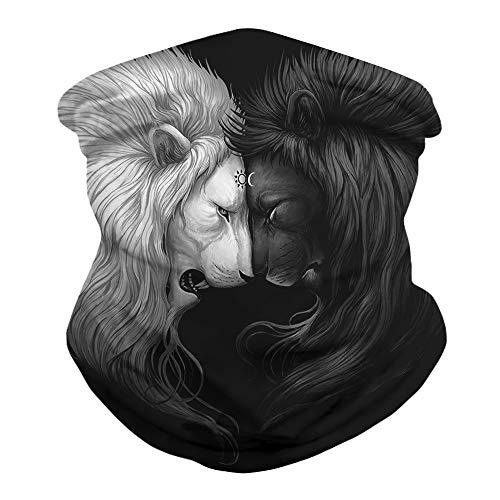Neck Gaiter Face Bandanas, Reusable Balaclava Mask Scarf Shield for Fishing Cycling (Color 5)
