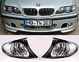 Berline Touring clignotant Set Blanc Facelift/bord noir