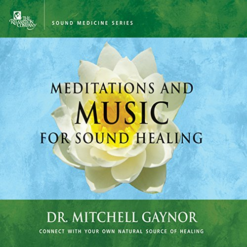 Meditations & Music for Sound Healing audiobook cover art