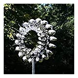 Unique And Magical Metal Windmill, Outdoor Metal Kinetic Garden Wind Spinners, Decorative Lawn...