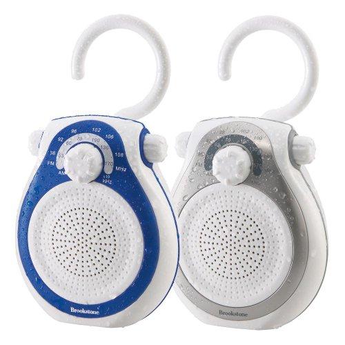 Brookstone Shower Tunes Water Proof Resistant Radio (AM/FM)
