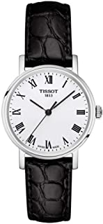 Tissot Leather Black Watch For Women - T109.210.16.033