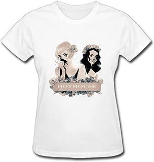 Duanfu 78violet Women's Cotton Short Sleeve T-Shirt