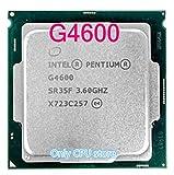 Processor G4600 CPU LGA 1151-land FC-LGA 14 nanometers Dual-Core CPU