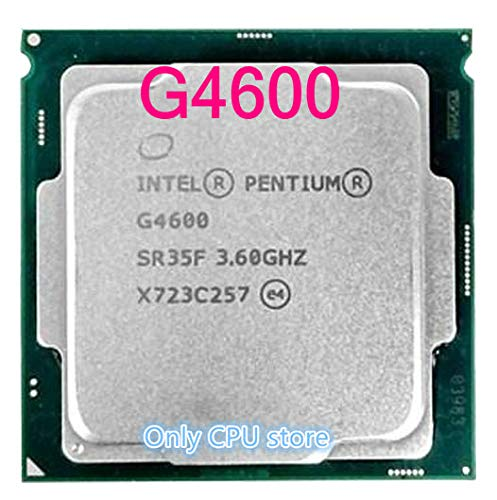 Processor G4600 CPU LGA 1151-land FC-LGA 14 nanometers Dual-Core CPU